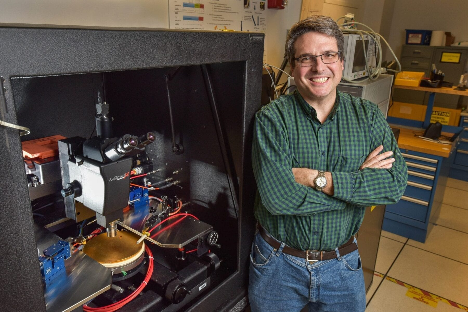 Breakthrough: Transistors and diodes from advanced semiconductor materials that could perform much better than silicon