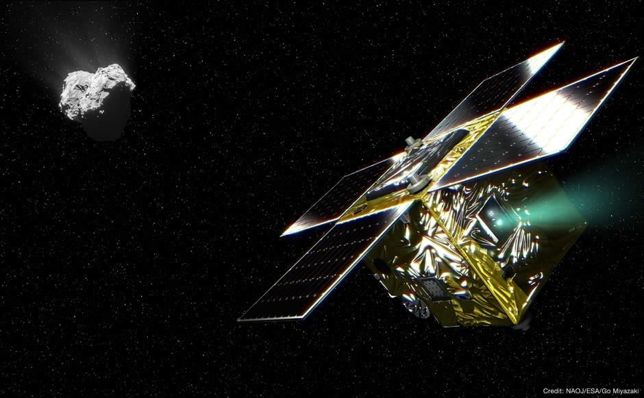 First scientific achievement by a micro spacecraft for deep space exploration