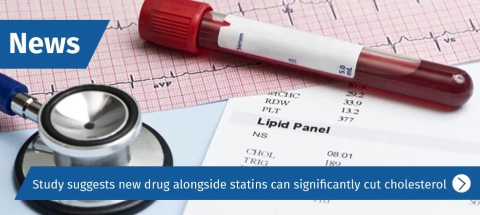 New gene-silencing drugs halved cholesterol levels in patients at risk of cardiovascular disease