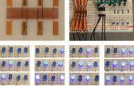 Spray-on digital memory using nanoparticle inks for flexible and programmable electronics everywhere