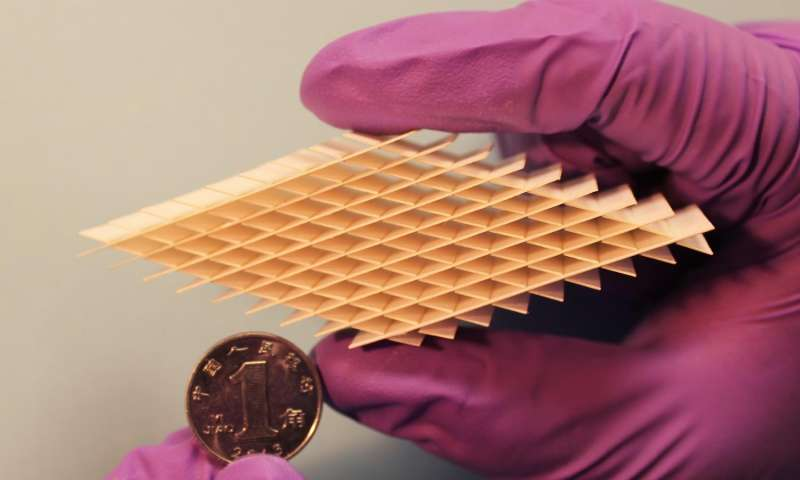 Self-charging paper device can harvest and store energy from body movements