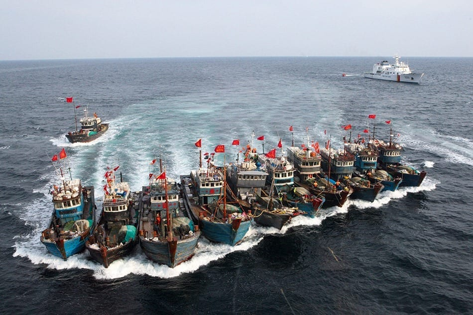 Overfishing is depleting oceans across the globe, with 90 percent of the world's fisheries fully exploited or facing collapse