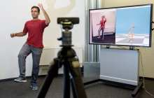 A new system that requires only a web camera to capture a person's movements digitally in 3D