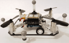 Robots that can both maneuver around on land and take to the skies