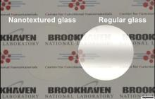 Glass turns invisible with new nanosized features