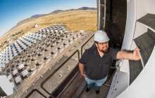 Fractal-like concentrating solar power receivers are 20 percent better at absorbing sunlight