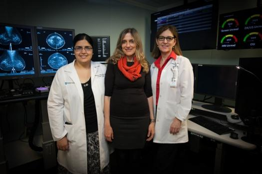 Early breast cancer detection using artificial intelligence