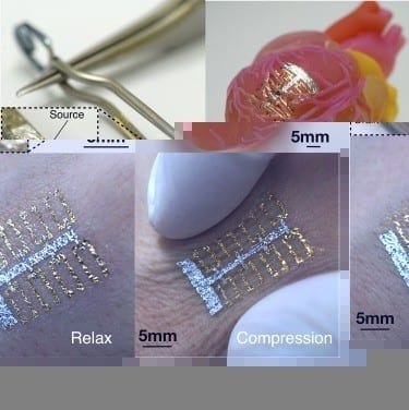 A real-time ultraflexible sensor that makes inflammation testing and curing 30 times faster