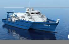 A hydrogen-powered research vessel is technically and economically feasible