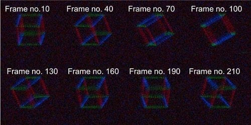 An ultrathin display that can project dynamic, multi