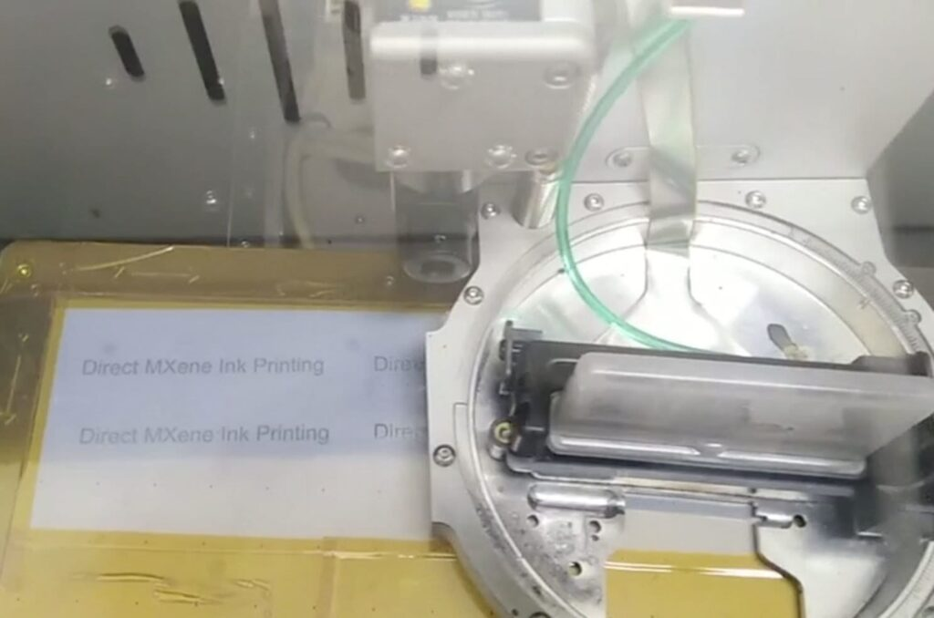 If you need more energy storage just print it with MXene ink