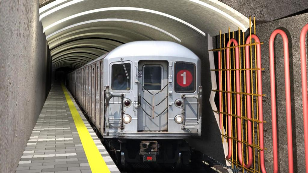 Could subway tunnels act as a geothermal heat-recovery ... on