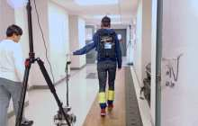 A robotic cane assists those with impaired mobility