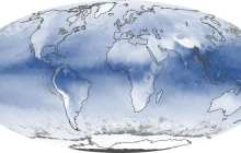 Water vapor in the atmosphere may serve as a potential renewable energy source