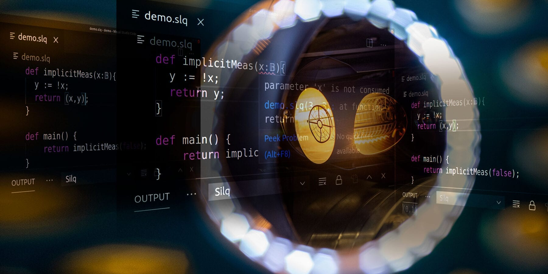 Computer scientists at ETH Zurich have developed the first quantum programming language that enables solving complex computations elegantly, simply and safely. (Photo: ETH Zurich)