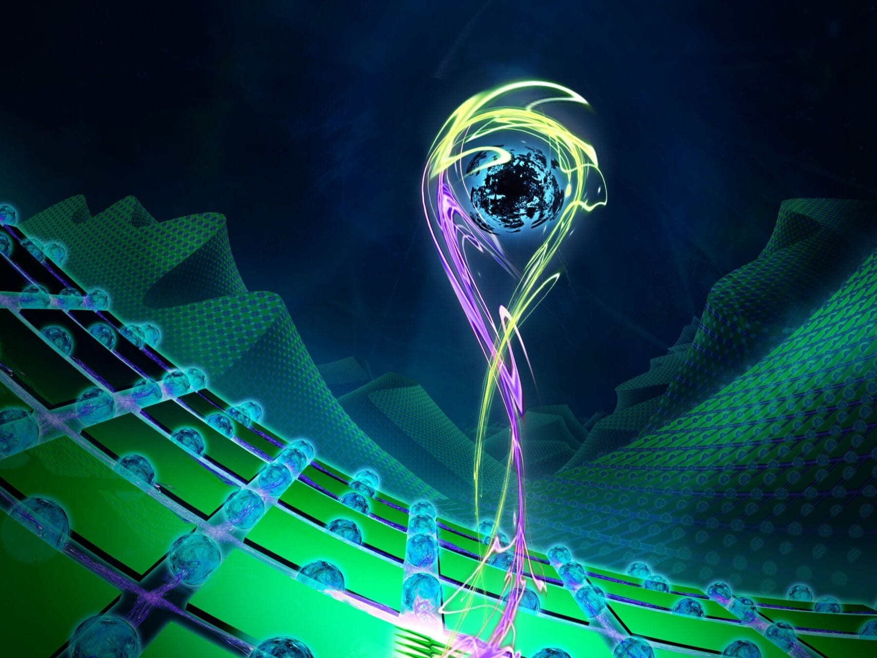 Newly developed methods ensure that the loss of individual qubits does not disrupt a quantum computer. (Credit: Uni Innsbruck/Harald Ritsch)