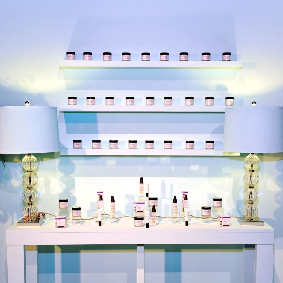 WEST HOLLYWOOD, CA - SEPTEMBER 22:  Philosopy products are seen on display at The Age of Cool hosted by Philosophy and Ellen Pompeo at Quixote on September 22, 2016 in West Hollywood, California.  (Photo by Donato Sardella/Getty Images for Philosophy)