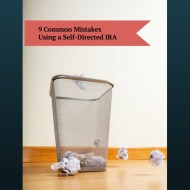 Self Directed IRA common mistakes