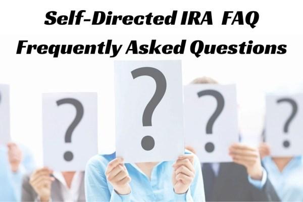 self directed ira faq