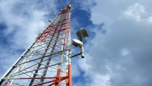 Photo of a GSM Antenna Tower