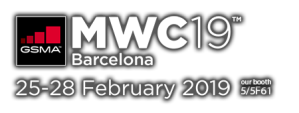 MWC19 Barcelona, our booth: 5/5F61