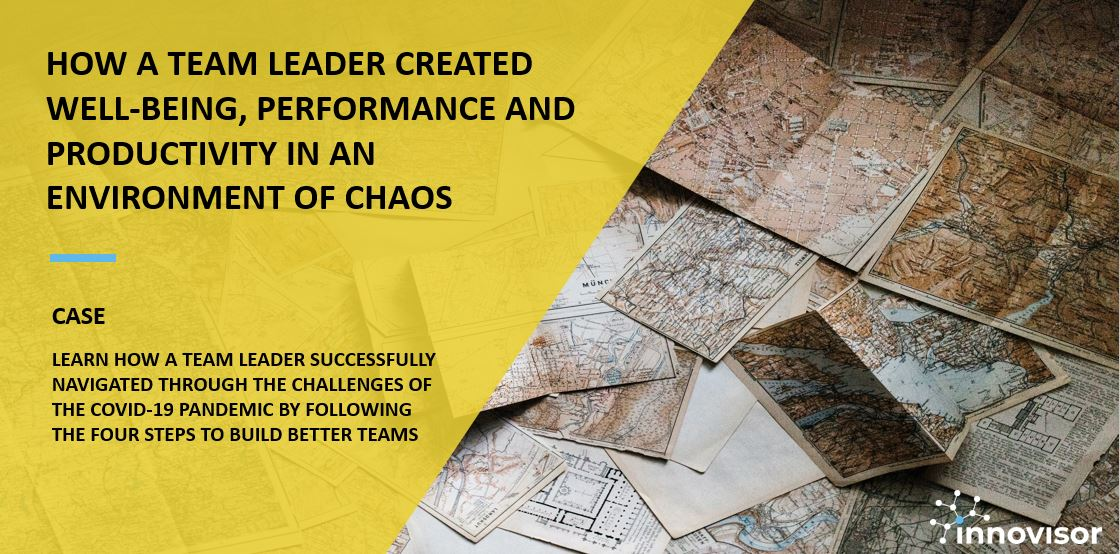 Case image - How a Team Leader Created Wellbeing Performance and Productivity In Times of Chaos
