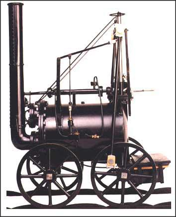Locomotive (High-Pressure Steam Engine)