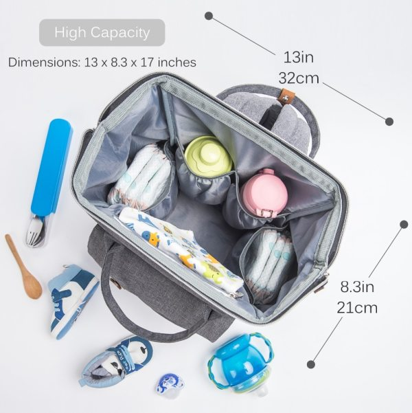Alameda Fashion Mummy Maternity Bag Multi function Diaper Bag Backpack Nappy Baby Bag with Stroller Straps 1 Alameda Fashion Mummy Maternity Bag Multi-function Diaper Bag Backpack Nappy Baby Bag with Stroller Straps for Baby Care
