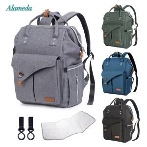 Alameda Fashion Mummy Maternity Bag Multi function Diaper Bag Backpack Nappy Baby Bag with Stroller Straps Innrech Market.com
