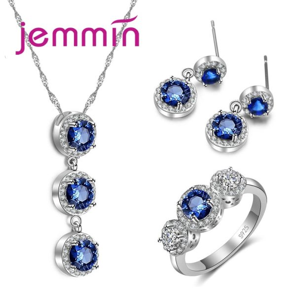 Big Promotion Exquisite Fashion Beautiful Jewelry Sets With Top Quality Cubic Zircon for Women Precious Gift Big Promotion! Exquisite Fashion Beautiful Jewelry Sets With Top Quality Cubic Zircon for Women Precious Gift