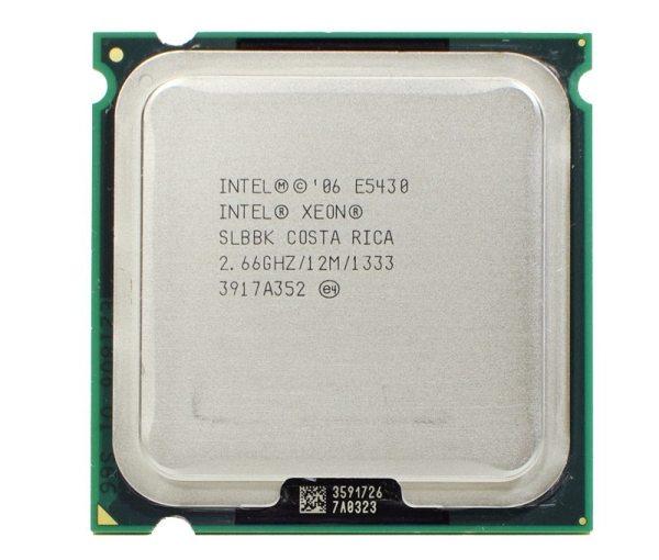 INTEL XEON E5430 SLANU SLBBK Processor 2 66GHz 12M 1333Mhz CPU Works on LGA775 motherboard INTEL XEON E5430 SLANU SLBBK Processor 2.66GHz 12M 1333Mhz CPU Works on LGA775 motherboard
