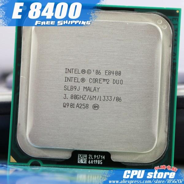Intel Core 2 Duo E8400 CPU Processor 3 0Ghz 6M 1333GHz Dual Core Socket 775 working Intel Core 2 Duo E8400 CPU Processor (3.0Ghz/ 6M /1333GHz) Dual-Core Socket 775 (working 100% ) sell E8500 E8600