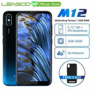 LEAGOO M12 Mobile Phone 5 7 19 9 HD IPS Waterdrop Screen 2GB RAM 16GB ROM Innrech Market.com