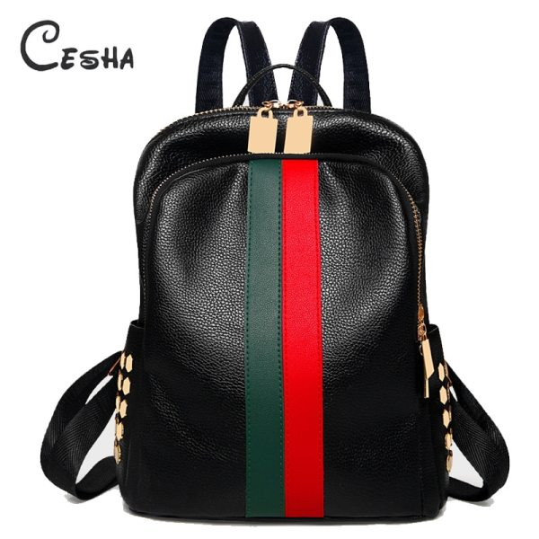 Luxury Famous Brand Designer Women PU Leather Backpack Female Casual Shoulders Bag Teenager School Bag Fashion Luxury Famous Brand Designer Women PU Leather Backpack Female Casual Shoulders Bag Teenager School Bag Fashion Women's Bags