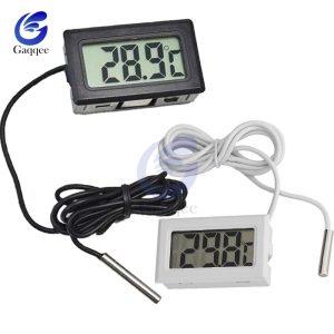 Mini Digital LCD Probe Fridge Freezer Thermometer Sensor Thermometer Thermograph For Aquarium Refrigerator Kit Chen Bar Innrech Market.com