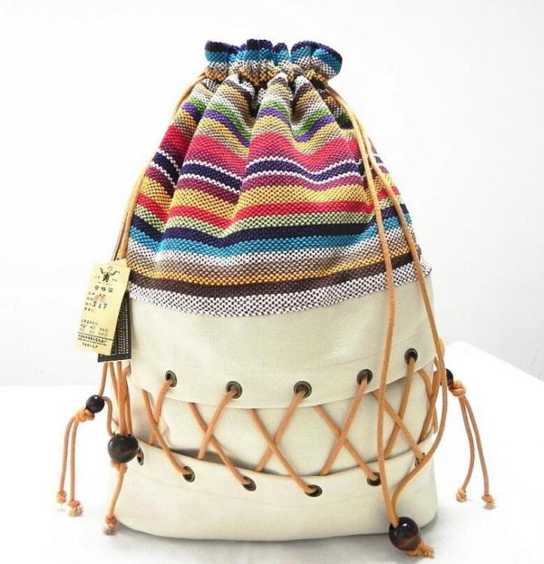Original ethnic canvas sack pack lady cotton printed colorful backpack teenage straw string follow out strip Original ethnic canvas sack pack lady cotton printed colorful backpack teenage straw string follow out strip bag