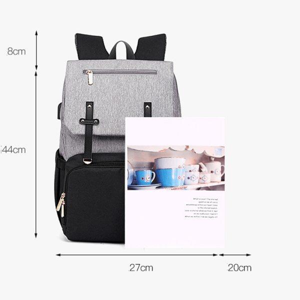 USB Waterproof Stroller Diaper backpack for mom Maternity Nappy Women Travel Infant Multifunction Baby Bag Insulation 3 USB Waterproof Stroller Diaper backpack for mom Maternity Nappy Women Travel Infant Multifunction Baby Bag Insulation Nursing