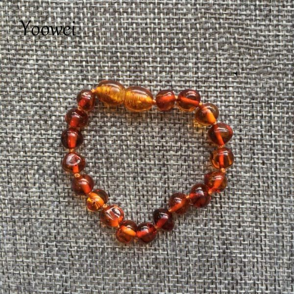 Yoowei Baby Teething Amber Bracelet for Boys Girl Best Women Ladies Gift Natural Baltic Amber Jewelry 2 Yoowei Baby Teething Amber Bracelet for Boys Girl Best Women Ladies Gift Natural Baltic Amber Jewelry Adult Anklet Sizes 13-23cm