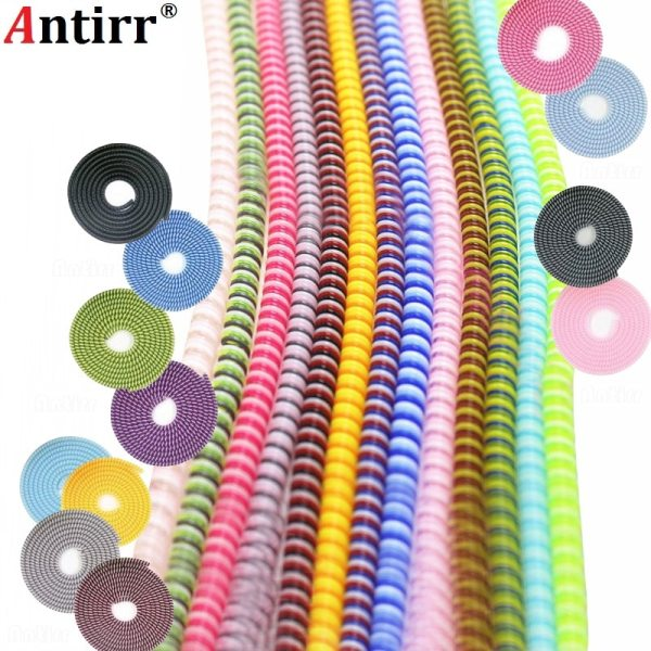 1 5M MIX Color phone Wire Cord Rope Protector USB Charging Cable Bobbin Winder Data Line 1.5M MIX Color phone Wire Cord Rope Protector USB Charging Cable Bobbin Winder Data Line earphone Cover Suit Spring Sleeve twine