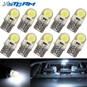10Pcs Auto T10 Led Cold White 194 W5W LED 168 COB Silica Car Super Bright Turn Innrech Market.com