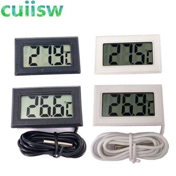 1pcs LCD Digital Thermometer for Freezer Temperature 50 110 degree Refrigerator Fridge Thermometer 1pcs LCD Digital Thermometer for Freezer Temperature -50~110 degree Refrigerator Fridge Thermometer