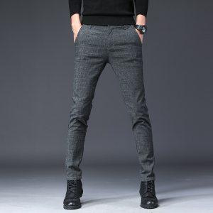 2019 New Design Upscale Casual Men Pants Cotton Slim Male Pant Straight Trousers Fashion Business Pants Innrech Market.com
