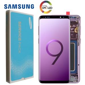 2960 1440 100 ORIGINAL LCD with Frame for SAMSUNG Galaxy S9 Plus Display S9 G965F G965 Innrech Market.com