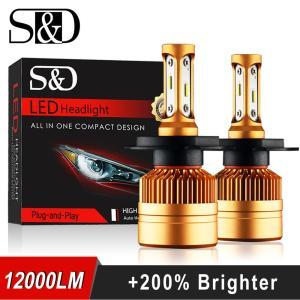 2Pcs H4 LED H7 H11 H8 9006 HB4 H1 H3 HB3 H9 H27 Car Headlight Bulbs Innrech Market.com