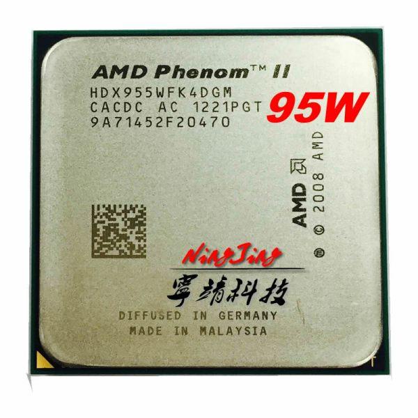 AMD Phenom II X4 955 3 2 GHz 95w Quad Core CPU Processor HDX955WFK4DGM HDX955WFK4DGI Socket AMD Phenom II X4 955 3.2 GHz 95w Quad-Core CPU Processor HDX955WFK4DGM/HDX955WFK4DGI Socket AM3