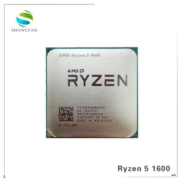 AMD Ryzen 5 1600 R5 1600 3 2 GHz Six Core Twelve Thread 65W CPU Processor AMD Ryzen 5 1600 R5 1600 3.2 GHz Six-Core Twelve Thread 65W CPU Processor YD1600BBM6IAE Socket AM4