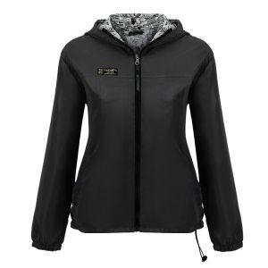 Autumn 2018 Fashion Women Jacket Coat Female Long Sleeve Solid Hooded Zipper Pockets Casual Pullover Two Innrech Market.com