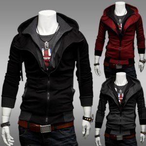 Bigsweety Fashion 2018 New Autumn Winter Men s Jacket Male Color Matching Jacket Male s Hooded 1 Innrech Market.com