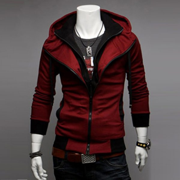 Bigsweety Fashion 2018 New Autumn Winter Men s Jacket Male Color Matching Jacket Male s Hooded 2 Bigsweety Fashion 2018 New Autumn Winter Men's Jacket Male Color Matching Jacket Male's Hooded Coat Outwear