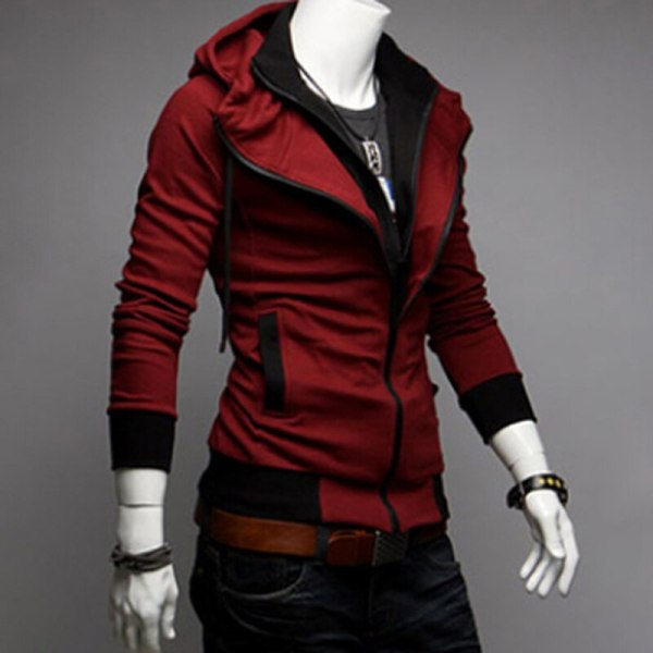 Bigsweety Fashion 2018 New Autumn Winter Men s Jacket Male Color Matching Jacket Male s Hooded 4 Bigsweety Fashion 2018 New Autumn Winter Men's Jacket Male Color Matching Jacket Male's Hooded Coat Outwear